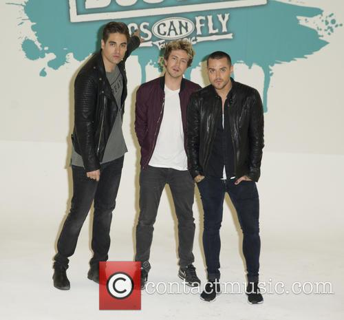 Charlie Simpson, Matt Willis and James Bourne 4