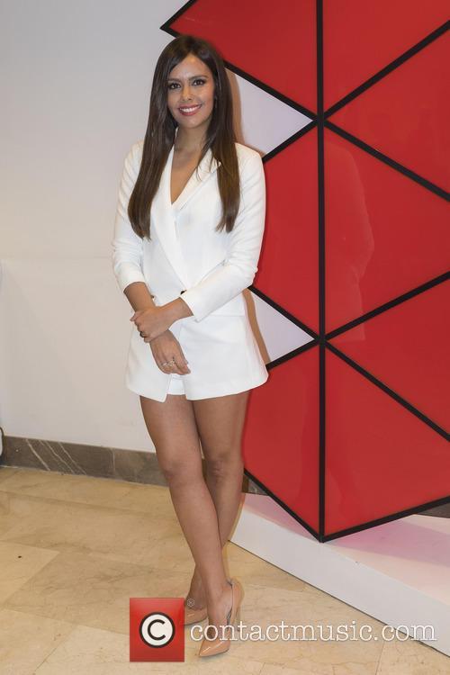 Cristina Pedroche attends a presentation of 'Beijing Express'