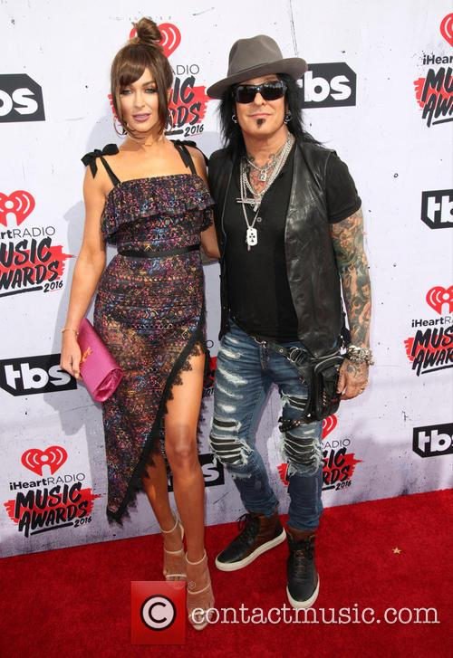Courtney Sixx and Nikki Sixx 2