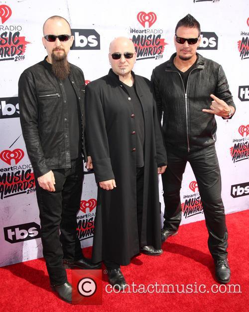 David Draiman, Mike Wengren and Dan Donegan 1