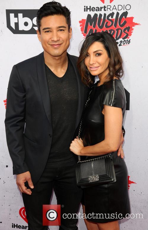 Mario Lopez and Courtney Laine Mazza 2