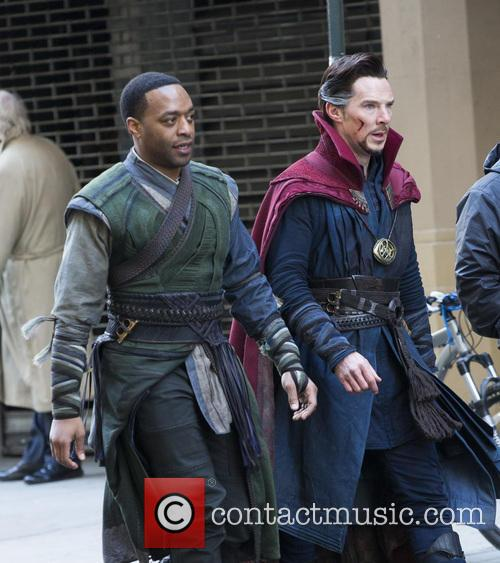 Chiwetel Ejiofor and Benedict Cumberbatch 8