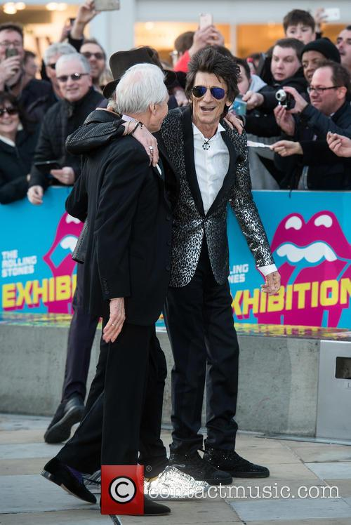Charlie Watts, Ronnie Wood and Rolling Stones 1