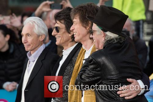 Rolling Stones, Keith Richards, Ronnie Wood, Charlie Watts and Mick Jagger 6