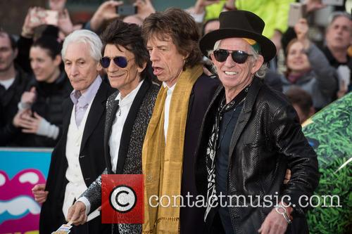 Rolling Stones, Keith Richards, Ronnie Wood, Charlie Watts and Mick Jagger 7