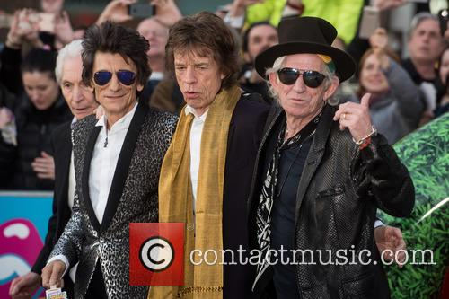 Rolling Stones, Keith Richards, Ronnie Wood, Charlie Watts and Mick Jagger 8