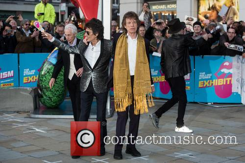 Rolling Stones, Keith Richards, Ronnie Wood, Charlie Watts and Mick Jagger 9