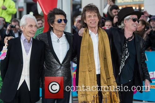 Rolling Stones, Keith Richards, Ronnie Wood, Charlie Watts and Mick Jagger 11