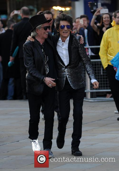 Keith Richards and Ron Wood 7