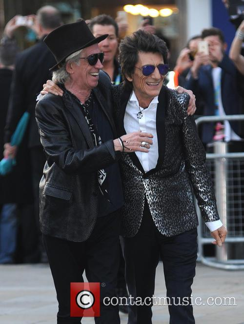 Keith Richards and Ron Wood 9