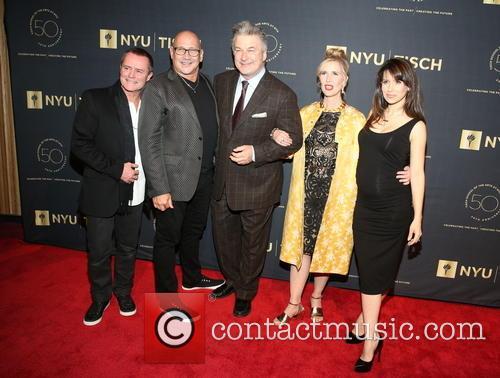 Guest, Carmen Marc Valvo, Alec Baldwin, Allyson Green and Hilaria Baldwin 1