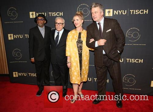 Spike Lee, Martin Scorsese, Allyson Green and Alec Baldwin 1