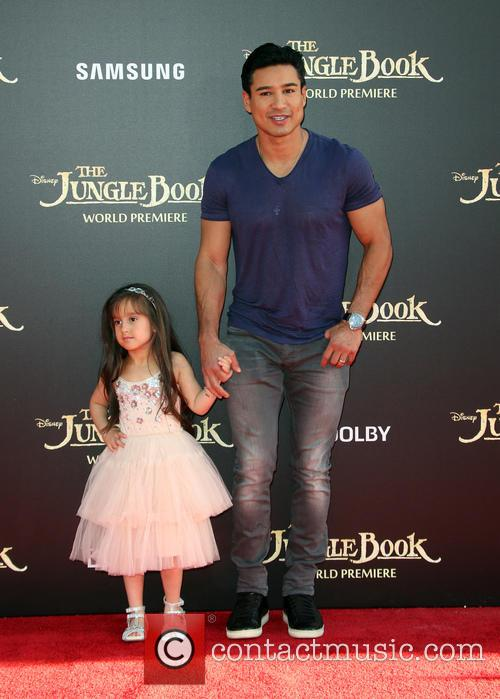 Mario Lopez and Gia Francesca Lopez 1