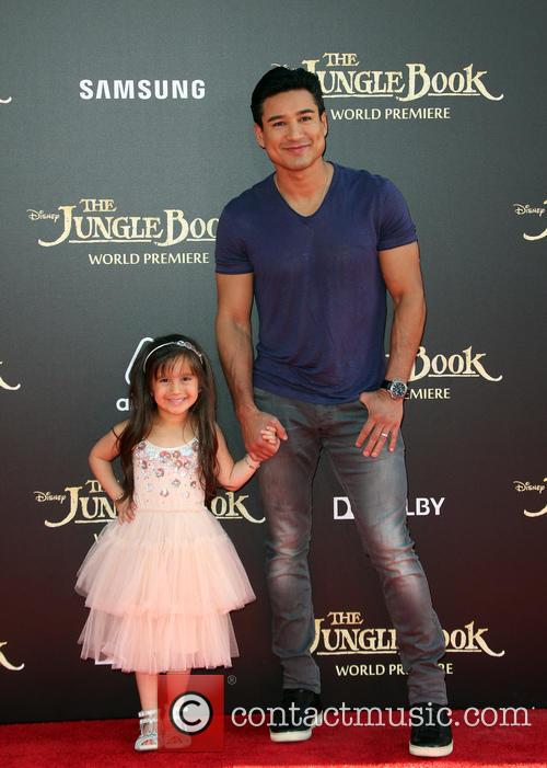 Mario Lopez and Gia Francesca Lopez 2