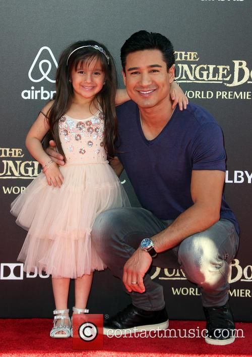 Mario Lopez and Gia Francesca Lopez 3