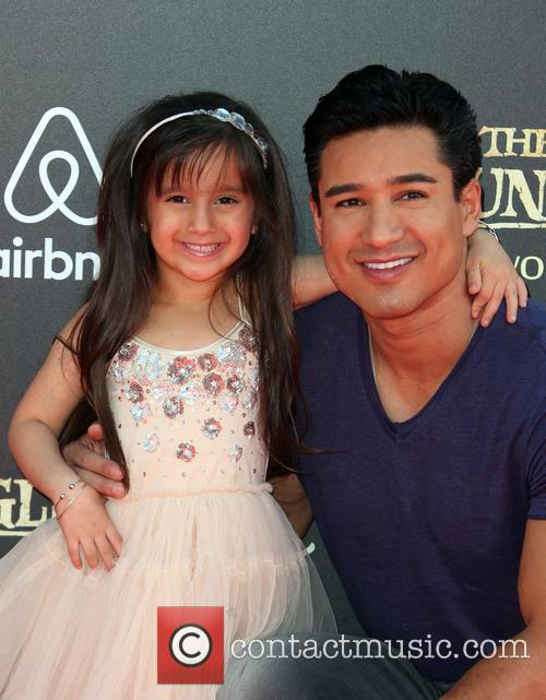 Mario Lopez and Gia Francesca Lopez 4