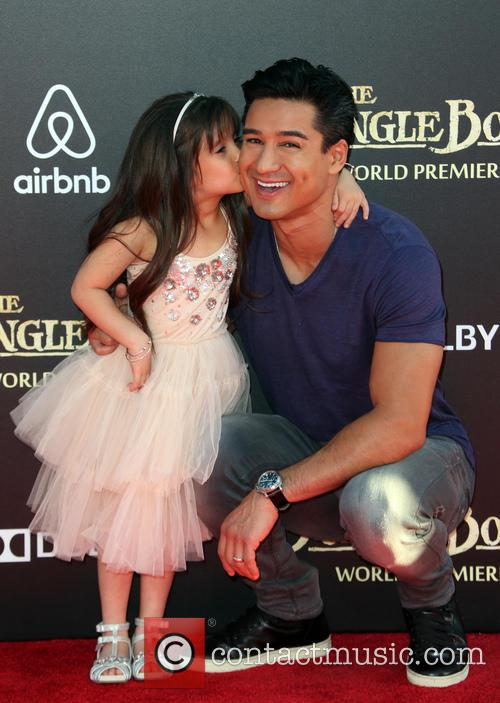 Mario Lopez and Gia Francesca Lopez 5