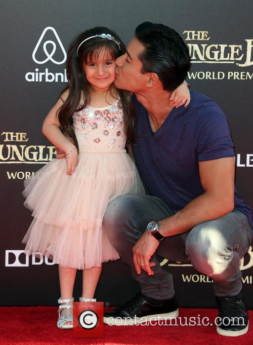 Mario Lopez and Gia Francesca Lopez 6