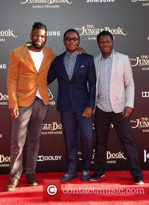 David Oyelowo, Caleb Oyelowo and Asher Oyelowo 4