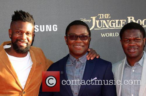 David Oyelowo, Caleb Oyelowo and Asher Oyelowo 5