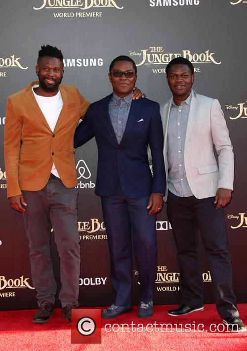 David Oyelowo, Caleb Oyelowo and Asher Oyelowo 6