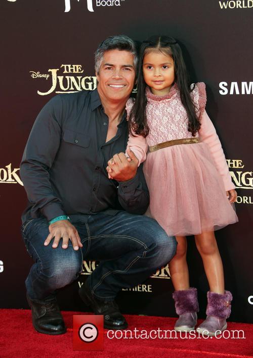 Esai Morales and Mariana Oliveira Morales 3
