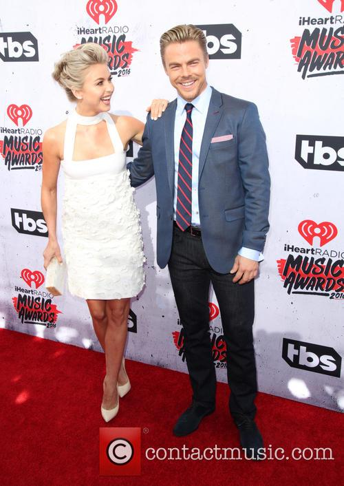 Julianne Hough and Derek Hough 6