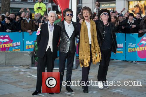 Rolling Stones, Mick Jagger, Keith Richards, Ronnie Wood and Charlie Watts 2