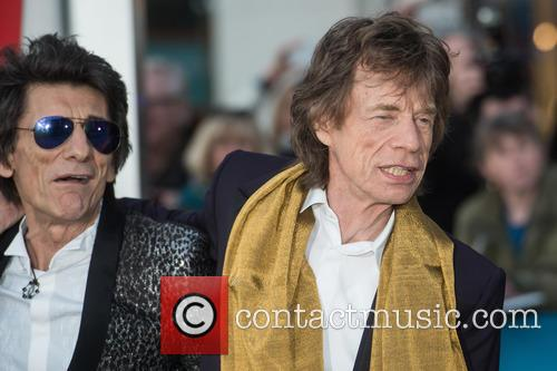 Rolling Stones, Ronnie Wood and Mick Jagger 3