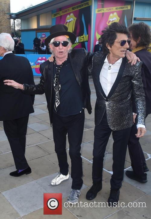 Keith Richards, Ronnie Wood and Charlie Whatts 11