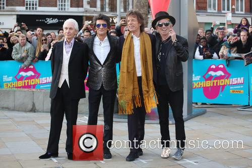 Rolling Stones, Ronnie Wood, Mick Jagger and Charlie Watts 9