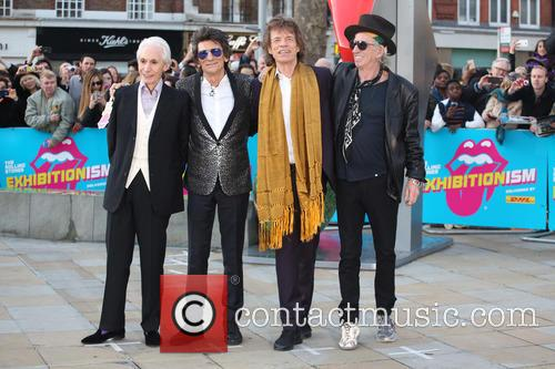 Rolling Stones, Ronnie Wood, Mick Jagger and Charlie Watts 11