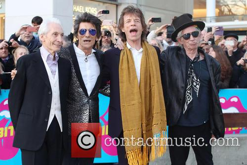 Rolling Stones at the opening night of Exhibitionism