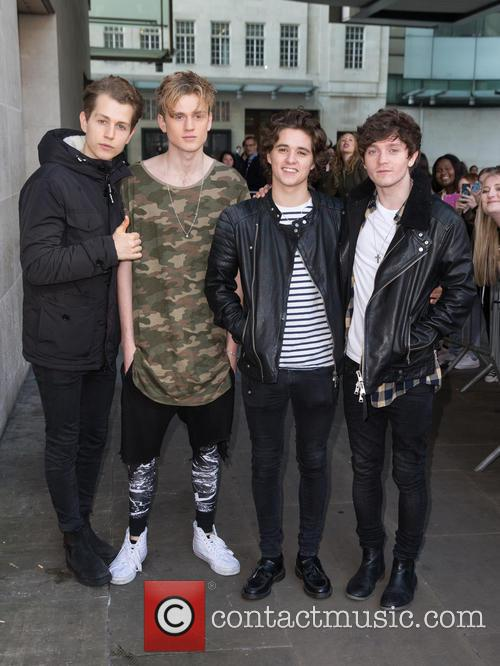 The Vamps, Connor Ball, Bradley Simpson, James Mcvey and Tristan Evans 8