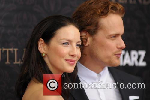 Caitriona Balfe and Sam Heughan 2
