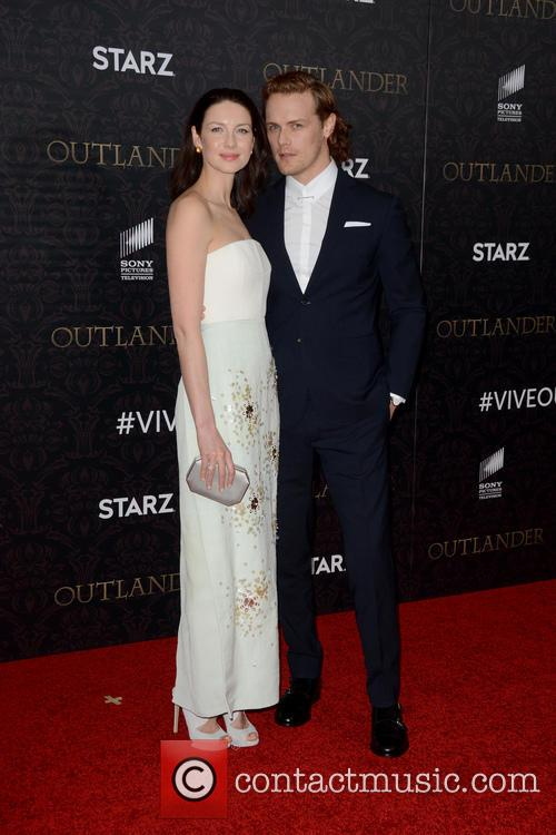 Caitriona Balfe and Sam Heughan 11