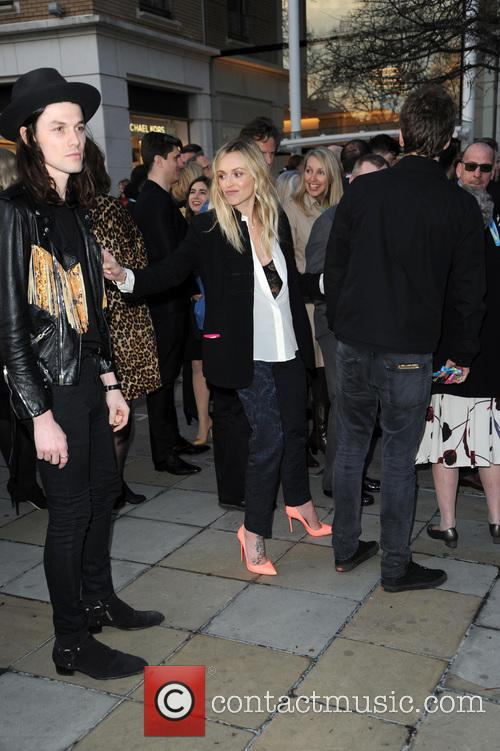 Fearne Cotton and James Bay 2