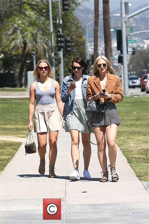 Maude Hirst enjoys Beverly Hills with friends