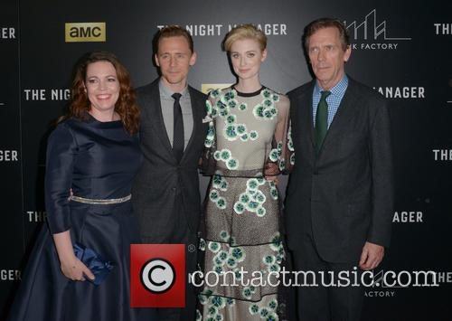 Olivia Colman, Tom Hiddleston, Elizabeth Debicki and Hugh Laurie 1