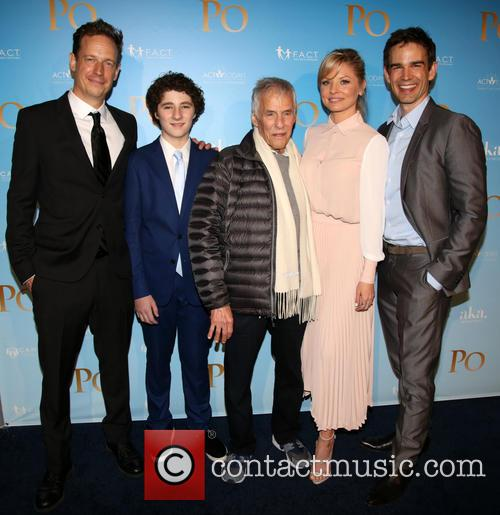 John Asher, Julian Feder, Burt Bacharach, Kaitlin Doubleday and Christopher Gorham 4