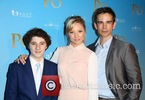 Julian Feder, Kaitlin Doubleday and Christopher Gorham 2