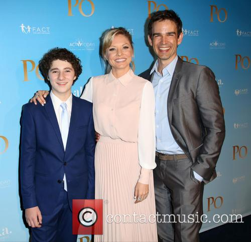 Julian Feder, Kaitlin Doubleday and Christopher Gorham 3