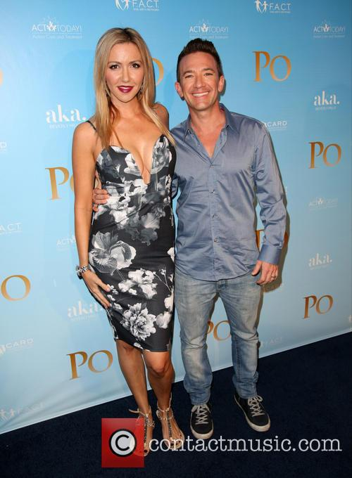 Lindsay Bronson and David Faustino 1
