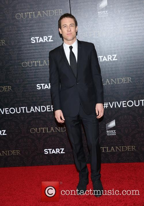 Tobias Menzies at an 'Outlander' premiere