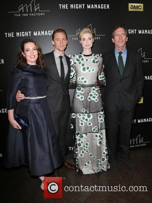 Olivia Coleman, Tom Hiddleston, Elizabeth Debicki and Hugh Laurie 2