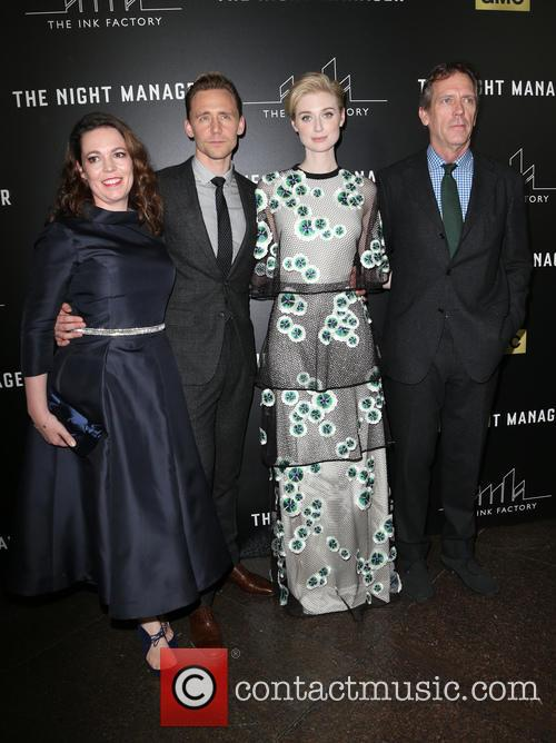 Olivia Coleman, Tom Hiddleston, Elizabeth Debicki and Hugh Laurie 3