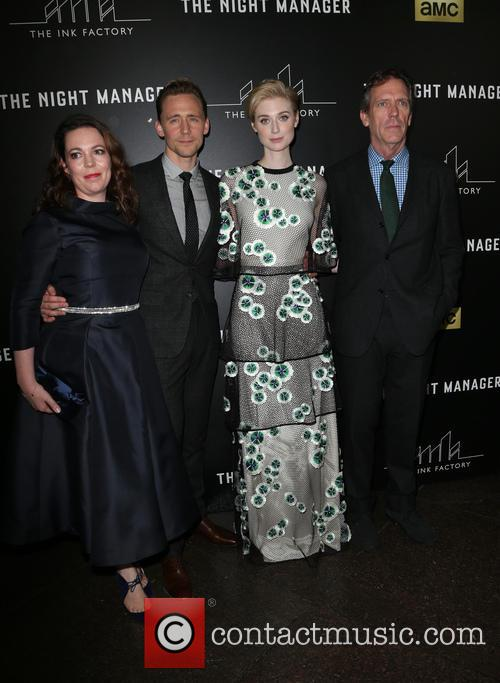 Olivia Coleman, Tom Hiddleston, Elizabeth Debicki and Hugh Laurie 4