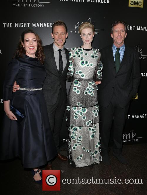 Olivia Coleman, Tom Hiddleston, Elizabeth Debicki and Hugh Laurie 6