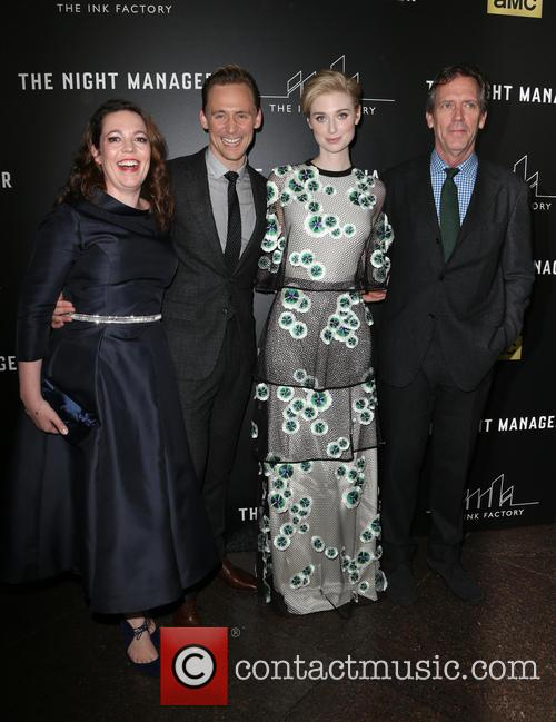 Olivia Coleman, Tom Hiddleston, Elizabeth Debicki and Hugh Laurie 7