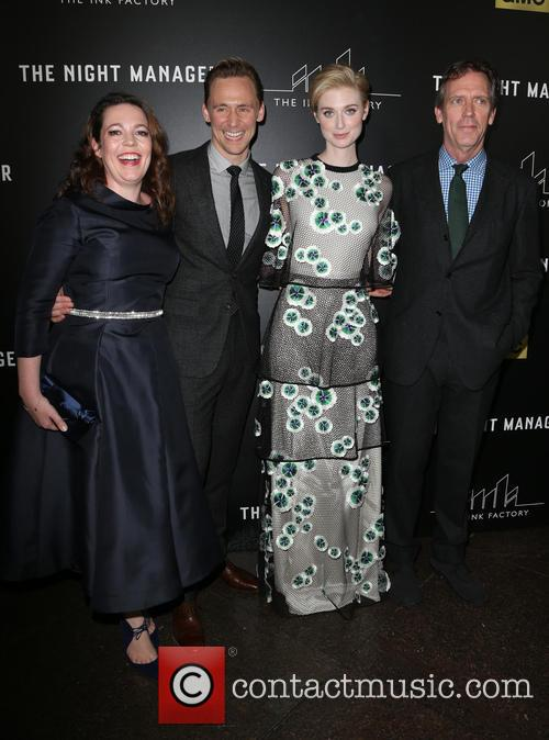 Olivia Coleman, Tom Hiddleston, Elizabeth Debicki and Hugh Laurie 8